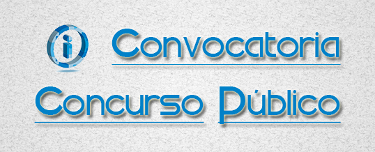 Convocatoria Concurso Público